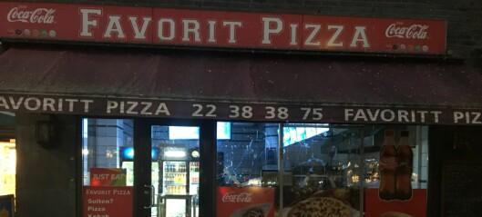 Mann (61) fengslet etter skadeverk mot Favoritt Pizza og Kebab på Carl Berner