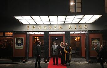 Bydelskinoen Frogner kino har gjenoppstått