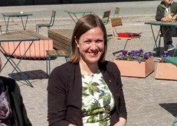 Byråd for byutvikling Hanna E. Marcussen (MDG) mener en stor park i Nydalen vil bli for dyrt. Foto: Arnsten Linstad