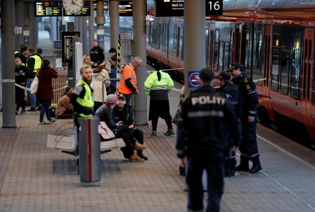 I politiforklaringer og i retten forklarte mannen at han da han var i Sverige eller Danmark «fikk ordre av djevelen om å reise til Oslo for å drepe en svart mann». Foto: Berit Roald / NTB scanpix