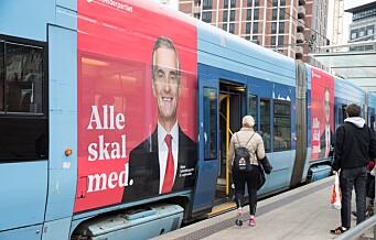 – Byrådet må tilrettelegge for flere reklameflater der mindre kulturaktører kan reklamere gratis