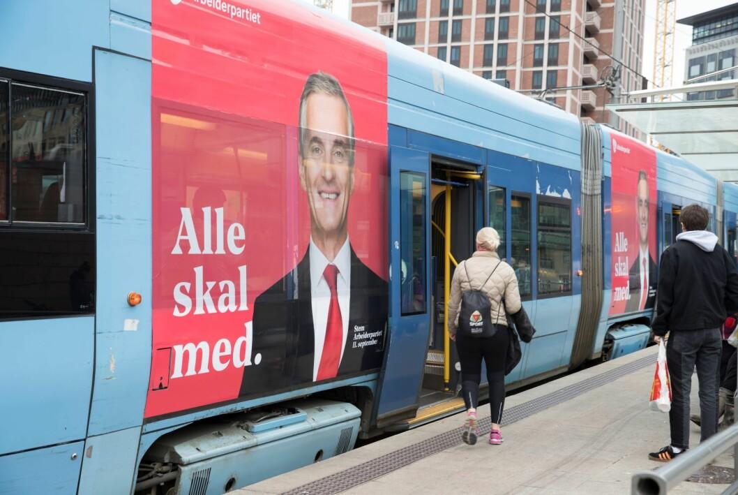 – Reklame har mye makt, makten til å fortelle deg hva du bør bry deg om.  Foto: Terje Pedersen / NTB scanpix