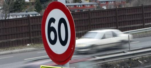 Miljøfartsgrense i Oslo fra 1. november
