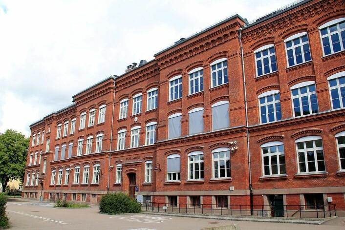 Vahl skole er en 1-7 skole i bydel Gamle Oslo. Skolen har navn etter professor i botanikk, Martin Vahl. Den ble etablert i 1897 som Vahlsgadens folkeskole på Rudolf Nilsens plass, som da het Vahls plass. Foto: Chell Hill / Wikipedia