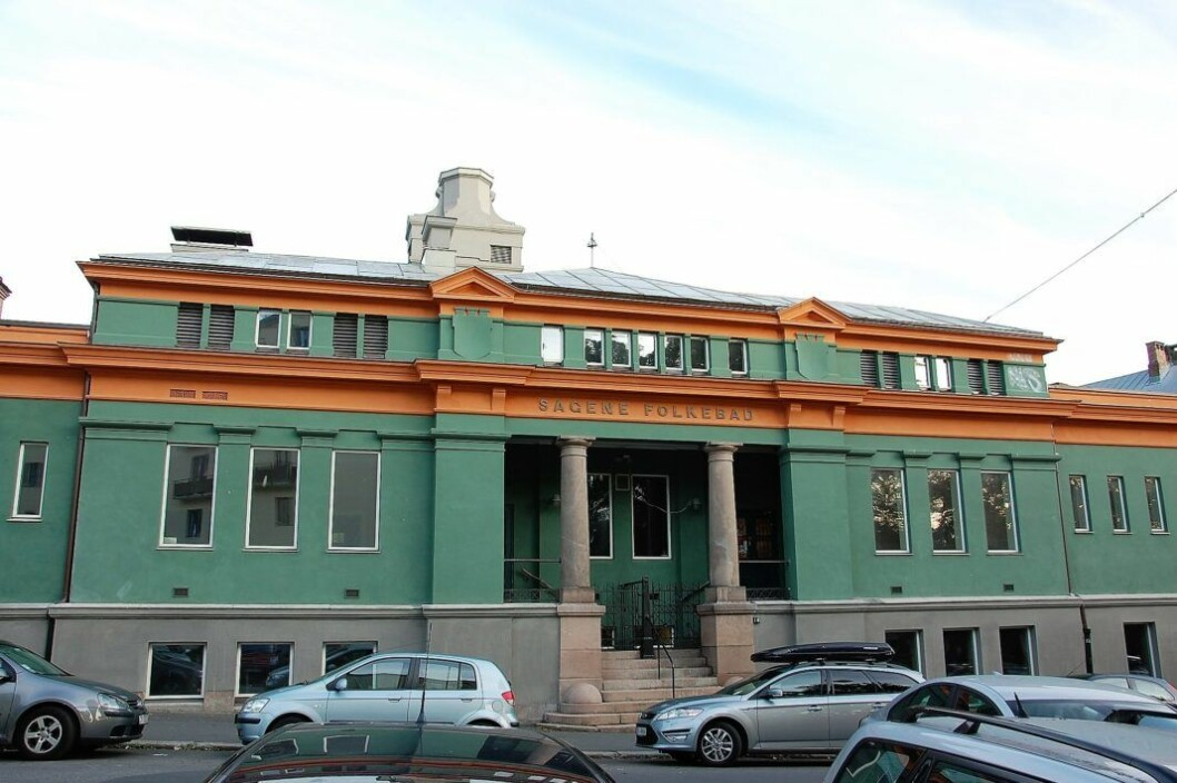 Planene til det nye flertallet i bydelsutvalget i Sagene må tolkes som at de gir opp Sagene bad, mener skribenten. Foto: Anne-Sophie Ofrim / Wikimedia Commons