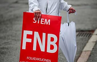 FNB-politiker i Oslo bystyre blir uavhengig