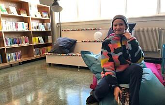 Endelig nytt bibliotek på Smestad skole