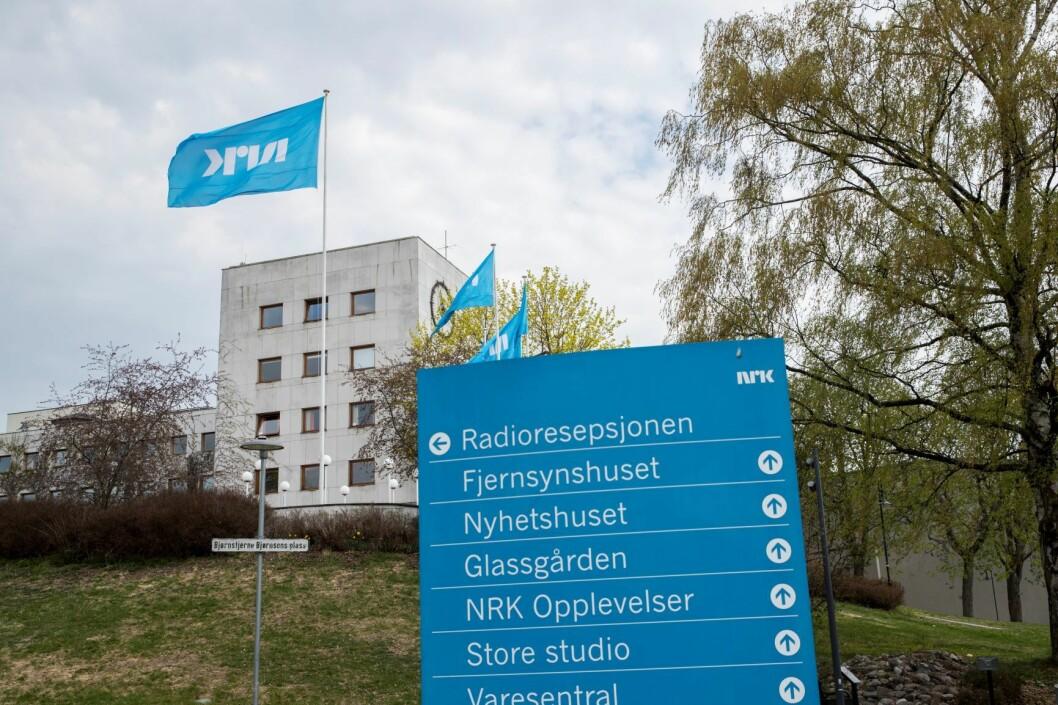 NRK-tomten på Marienlyst i Oslo er til salgs, og OBOS, Balder og Oslo Pensjonsforsikring vil legge inn bud. Foto: Vidar Ruud / NTB scanpix