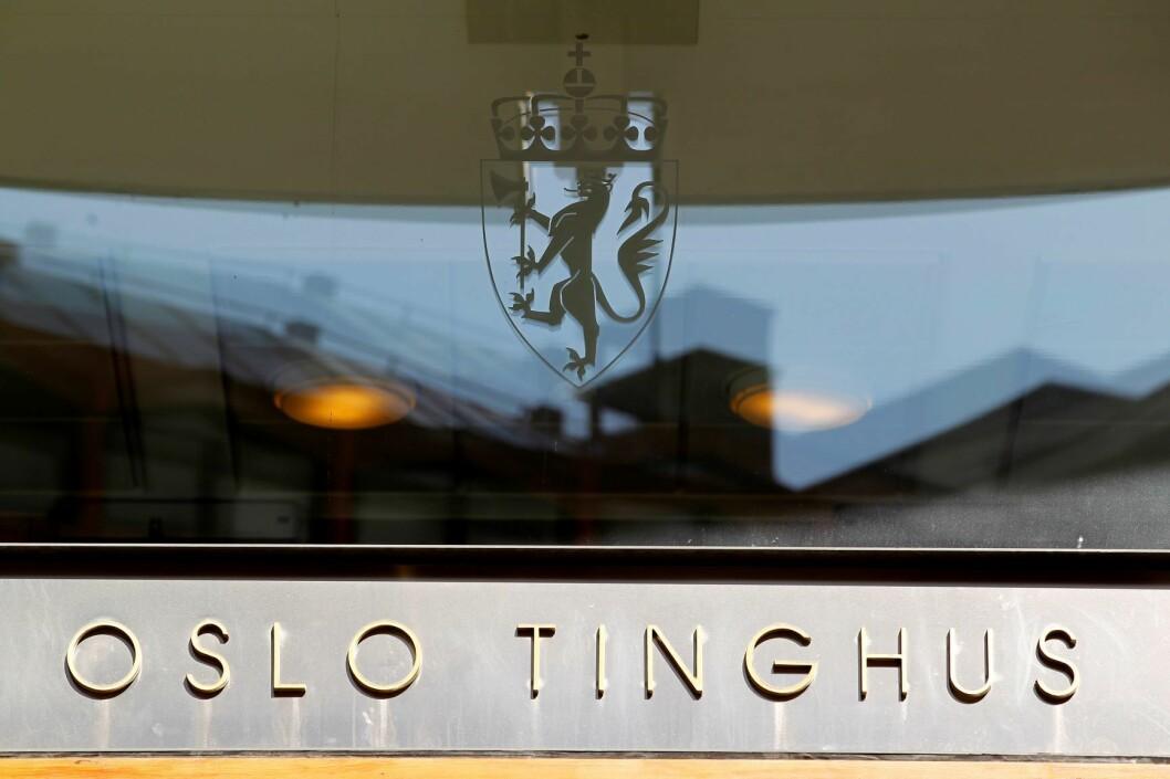 En drosjesjåfør er i Oslo tingrett dømt til fengsel i to år og ti måneder for å ha voldtatt en kvinnelig passasjer i Oslo sentrum for tre år siden. Foto: Håkon Mosvold Larsen / NTB scanpix