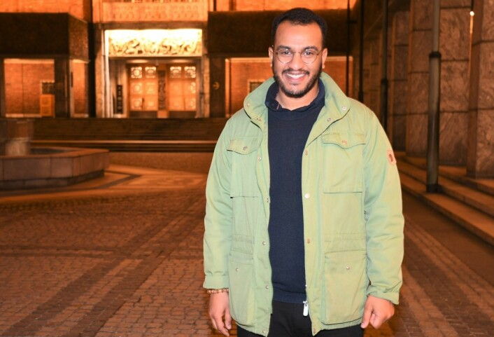 De neste fire årene skal Omar Samy Gamal (SV) være med på å utforme byrådets politikk i Oslo rådhus. Foto: Christian Boger