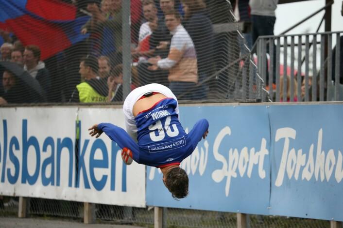 Aron Dønnum kunne godt tenke seg en proff-karriere i utlandet. Men først vil han gjøre suksess med Vålerenga. Foto: Ørn E. Borgen / NTB scanpix