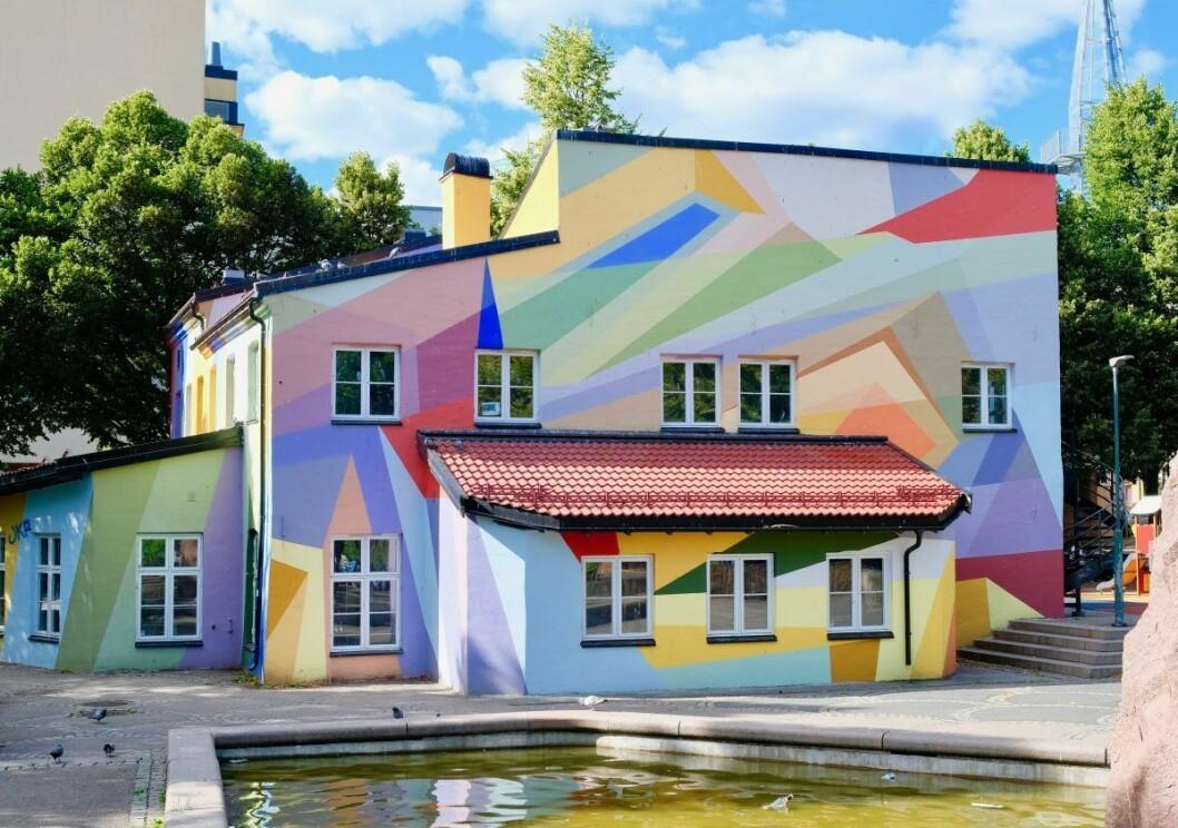 Mosaikk barnehage på Grønland skaper trivsel i nabolaget. Foto: Emilie Pascale