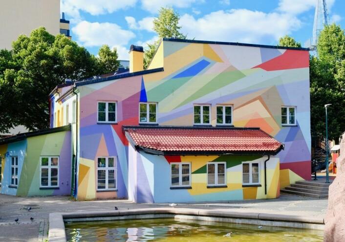 Mosaikk barnehage på Grønland skaper trivsel i nabolaget ved Norbygata. Foto: Emilie Pascale