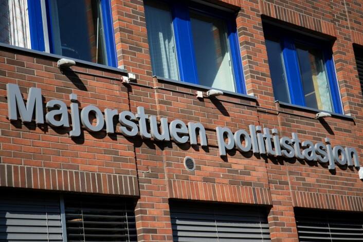 Majorstuen Politistasjon i Oslo. Foto: Fredrik Hagen / NTB scanpix