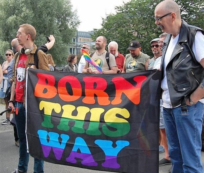 Foreningen for kjønns- og seksualitetsmangfold fremhever det som viktig at lhbt-personer her til lands er beskyttet av rettigheter mot diskriminering og hatkriminalitet.<br />Foto: Johanna Engen