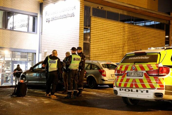 En 20 år gammel mann er dømt for drapsforsøk etter at en mann ble knivstukket på Furuset i Oslo i desember 2017. Foto: Audun Braastad / NTB scanpix