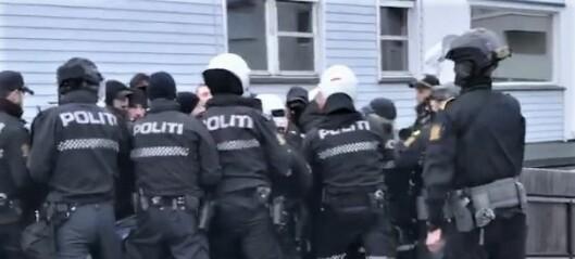 – Vi i Oslo mot rasisme anser politiets fremferd for å være både urimelig og unødvendig brutal