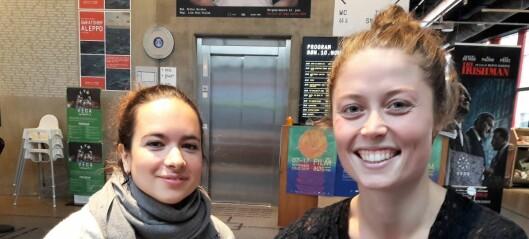 Mari og Tamar er sirkusartister. Denne uken åpner de nysirkus-festival på Grusomhetens teater
