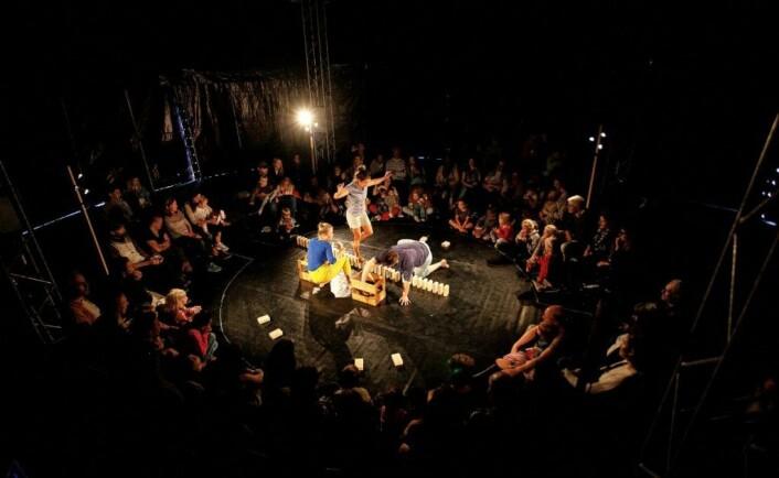 Forestillingen Fritt Fram kan du se på Grusomhetens teater på søndag. Foto: Troels Rosenkrantz
