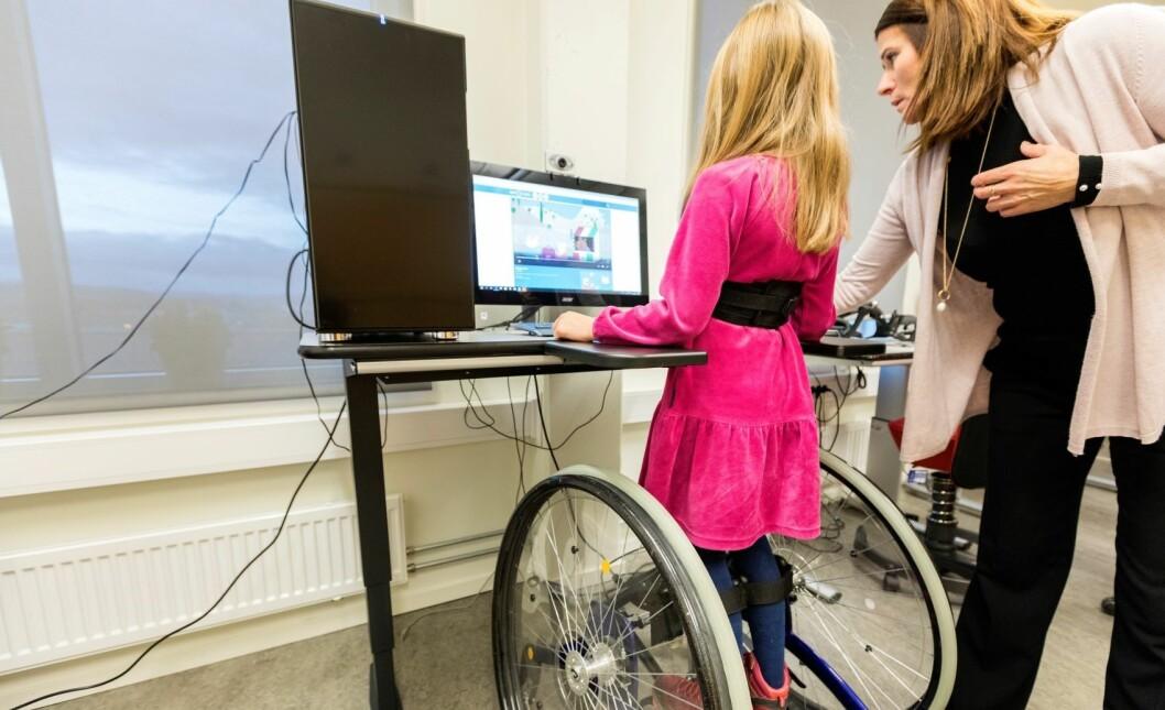 – Funksjonshemmede har krav på et fullverdig og selvstendig liv. Det betyr at de må få den hjelpen de trenger, sier Jørgen Foss. Illustrasjonsfoto: Gorm Kallestad / NTB scanpix