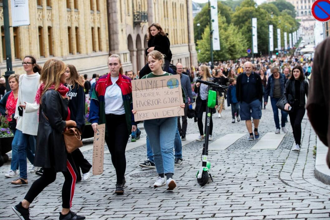 Klimaet endrer seg, men gjør vi det? Foto: Berit Roald / NTB scanpix