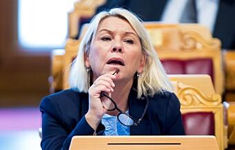 Kommunalminister Monica Mæland: Ingen grunn til å vurdere riving av Y-blokka på nytt