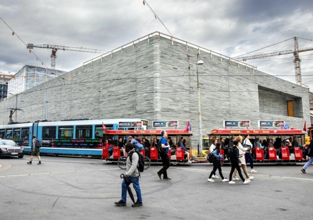 Selskapet bak kontraktene er underleverandør for det globale entreprenørkonsernet Caverion-gruppen, med 15.000 ansatte rundt om Europa. Foto: Ole Berg-Rusten / NTB Scanpix