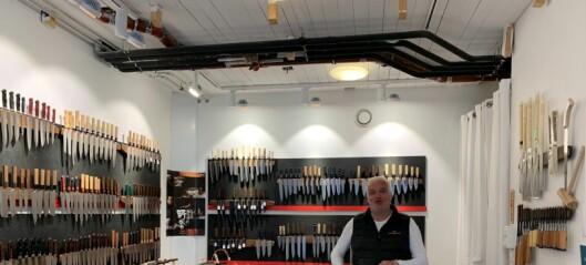 Skarpe kniver, ved mathallen Vulkan, er knivbutikken for ekspertene