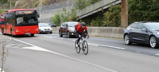 Høyesterett forkastet anke fra bøtelagt syklist