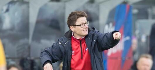 Monica Knudsen gir seg som trener for Vålerengas damelag