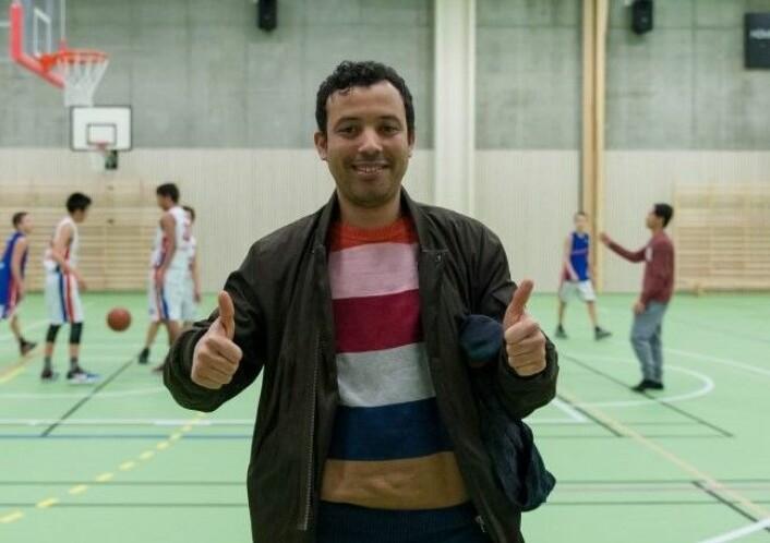 Mimoun el Atiaoui er leder for Sterling. Foto: Anna Carlsson