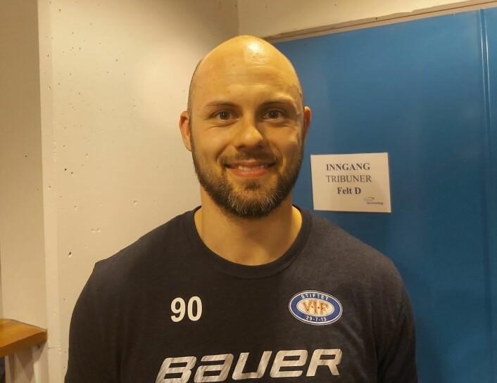 Daniel Sørvik måtte ut med skade tidlig i kampen, det er bare å håpe at han er raskt tilbake på laget. Foto: André Kjernsli