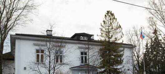 Fyringskluss for russere. Ambassaden får ikke vite om de kan få dispensasjon fra forbud mot oljefyring