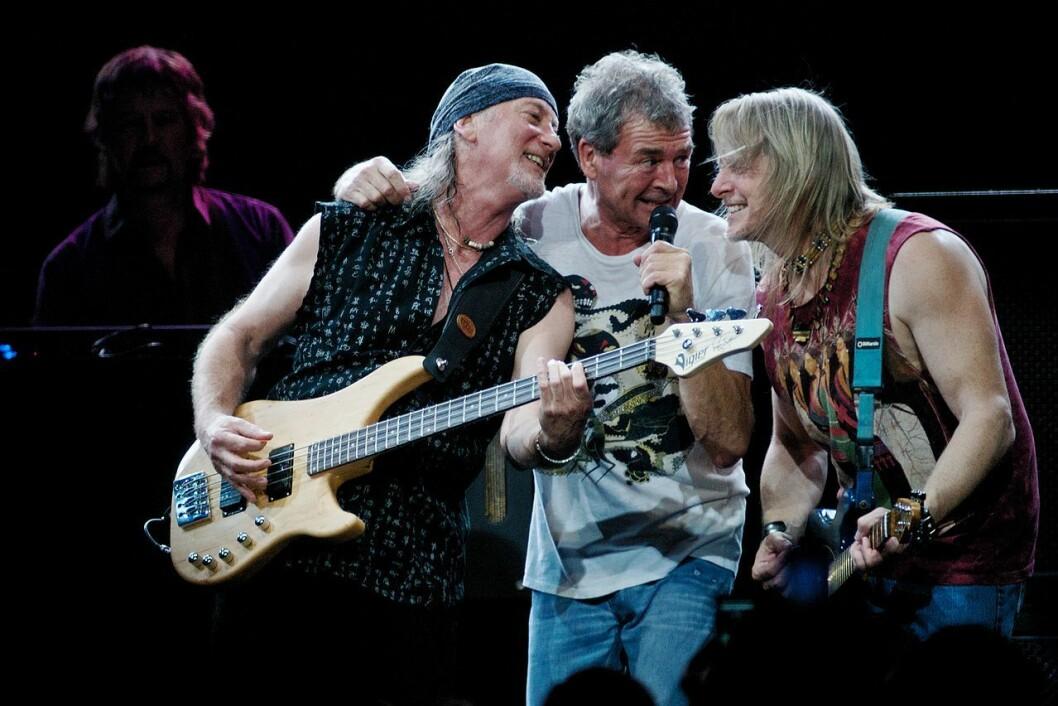 Deep Purple kommer til Oslo til sommeren. Her fra Brasil i 2009. Foto: Silvio Tanaka / Wikimedia Commons