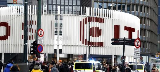 Mann døde etter fall inne på Oslo City