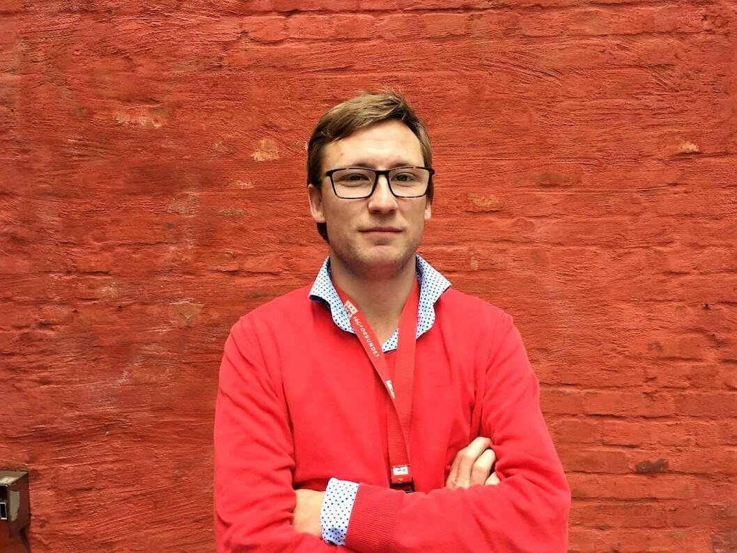 Nå kan Per Egil Johansen, fra Fagforbundet Oslo, og alle som jobber mindre enn 20 prosent juble. Nå får langt flere enn før pensjon. Foto: Fagforbundet