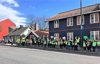 Byrådet ønsker 20 km/t ved alle byens skoler