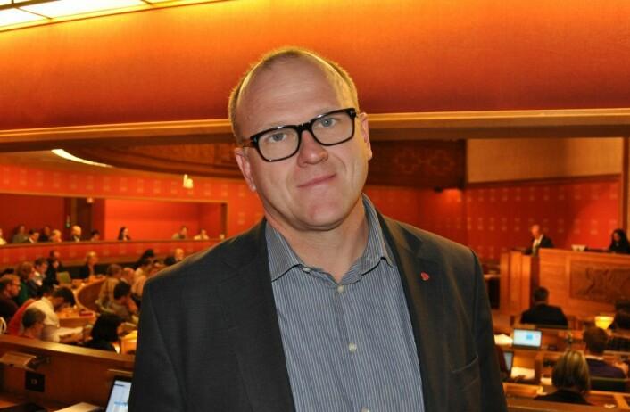 — Dersom disse partiene nå mener det må vedtas en ny uttalelse, så er det altså over ett år for sent, sier Frode Jacobsen (Ap). Foto: Arnsten Linstad