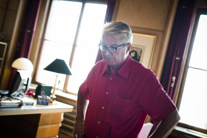 Ved kommunevalget i 2015 ble det Stang ut. Fabian Stang er den foreløpig siste ordføreren fra Oslo Høyre. Foto: Christian Vassdal