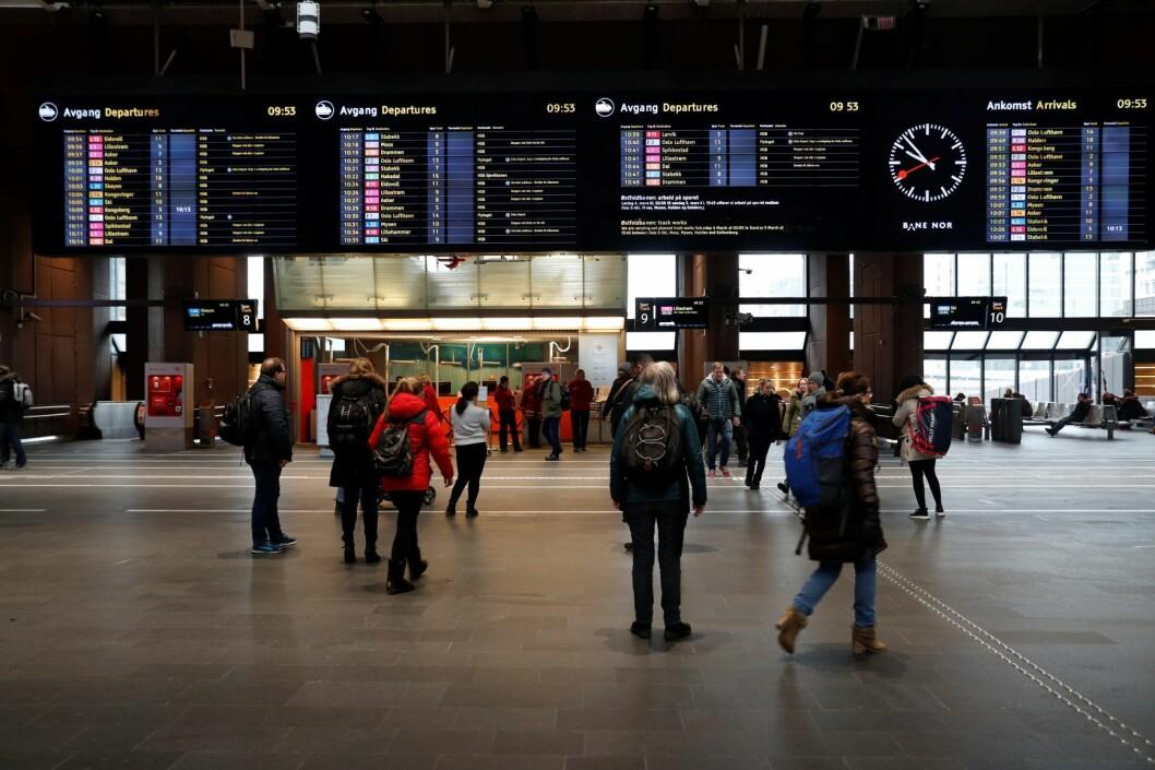 En kvinne er siktet for et drapsforsøk som skal ha funnet sted på Oslo sentralstasjon. Foto: Cornelius Poppe / NTB scanpix