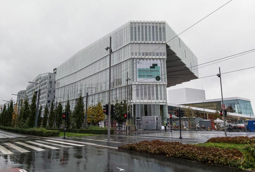 Rett i nærheten av Oslo S ligger det nye og tilgjengelige biblioteket. Foto: André Kjernsli