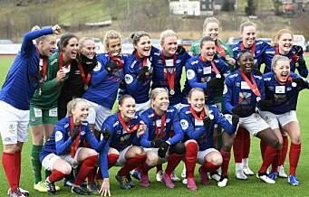 Vålerengas sølvjenter klare for europakvalik etter seier over Arna Bjørnar