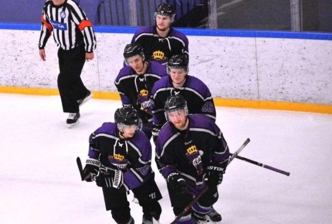 For femte kamp på rad gikk Grüners spillere av isen uten poeng etter nederlag for Narvik. Arkivfoto: Christian Boger