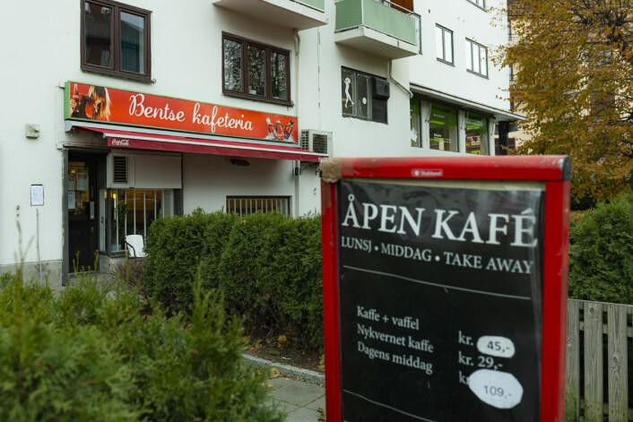 For 109 kroner får du dagens hovedrett og kaffe etterpå. Foto: Morten Lauveng Jørgensen