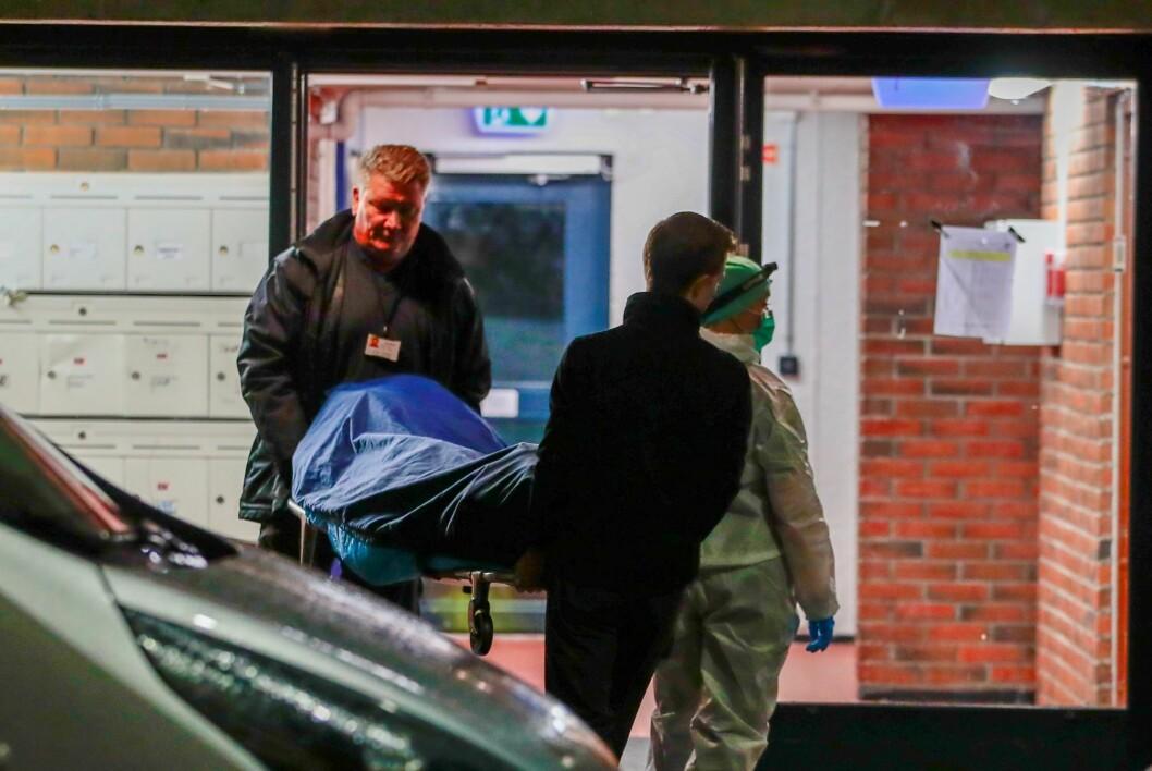 36-åringen ble siktet senest i sommer, etter at den nå avdøde moren ble knivstukket i den samme leiligheten i Trondheimsveien i Oslo.  Foto: Håkon Mosvold Larsen / NTB scanpix