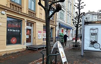 Forretningslokalet til Matkroken på Harald Hårdrådes plass er til salgs igjen