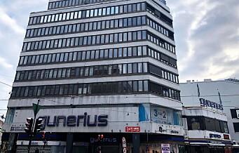 Olav Thon sier han vil skrote planene for utbygging av Gunerius-kvartalet