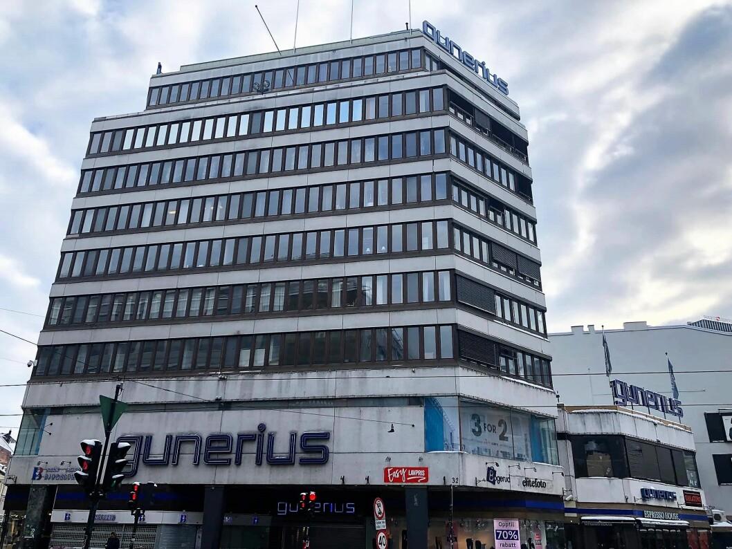 En rekke Notabene-butikker har blitt lagt ned i Oslo, men inntil i dag fantes det fremdeles en på Gunerius. Foto: Geir Rognlien Elgvin