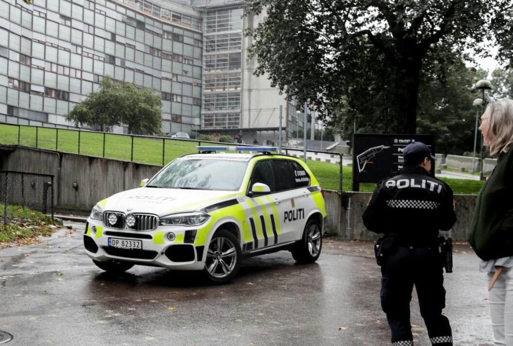 Søkertallet på stillingene ved Oslo politidistrikt tilsvarer to hele studentkull fra Politihøyskolen, dersom regjeringens planer om å flytte 150 studieplasser ut av byen blir realitet. Foto: Vidar Ruud / NTB scanpix