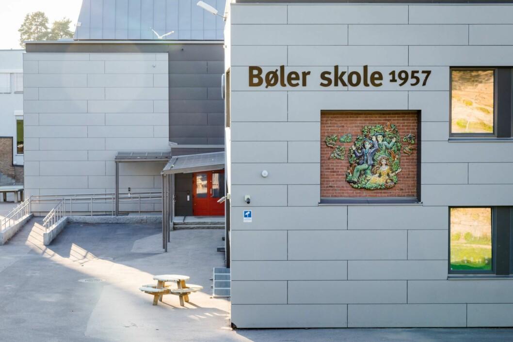 Rundt 100 elever ved Bøler skole er syke. Foto: Audun Braastad / NTB scanpix